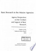 Basic Research In The Mission Agencies