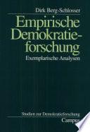 Empirische Demokratieforschung