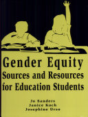 Gender Equity Right from the Start  Sources and resources for education students in mathematics  science  and technology