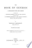 The Book of Genesis Book