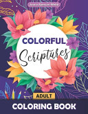 Colorful Scriptures Adult Coloring Book