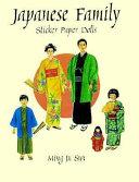 Japanese Family Sticker Paper Dolls