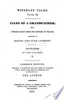 Tales of a grandfather, fourth series
