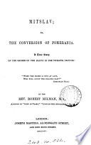 Mitslav  or  the conversion of Pomerania Book