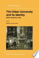 The Urban University And Its Identity