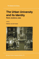 The Urban University and its Identity Pdf