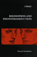 Rhodopsins and Phototransduction