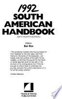 South American Handbook, 1992