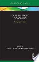 Care in Sport Coaching Book