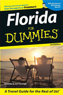 Florida For Dummies Book