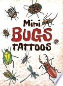 Mini Bugs Tattoos Book