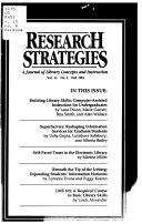 Research Strategies Book