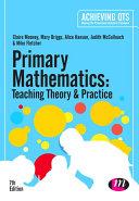 Primary Mathematics  Teaching Theory and Practice