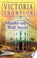 Murder on Wall Street Book