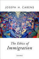 Pdf The Ethics of Immigration Telecharger
