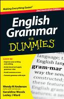 English Grammar For Dummies Pdf/ePub eBook
