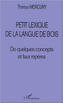 Pdf PETIT LEXIQUE DE LA LANGUE DE BOIS Telecharger