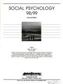 Social Psychology 98 99 Book PDF