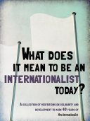 What does it mean to be an internationalist today?