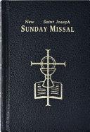 The New Saint Joseph Sunday Missal & Hymnal/Black/No. 820/22-B