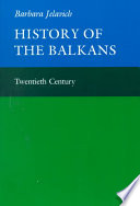 History of the Balkans: Volume 2