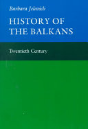 History of the Balkans  Volume 2