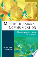 Ebook Multiprofessional Communication Making Systems Work For Children