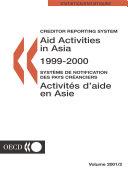 Aid Activities in Asia 2001
