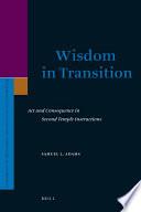 Wisdom In Transition