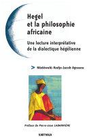 Pdf Hegel et la philosophie africaine - Une lecture interprétative de la dialectique hégélienne Telecharger