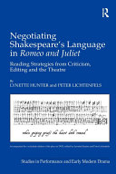Negotiating Shakespeare's Language in Romeo and Juliet: ...