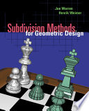 Subdivision Methods for Geometric Design