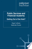 Public Services and Financial Austerity Book PDF