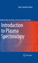 Introduction to Plasma Spectroscopy Pdf/ePub eBook