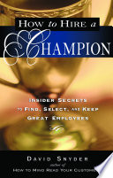 How to Hire a Champion
