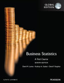 Business Statistics: A First Course, Global Edition