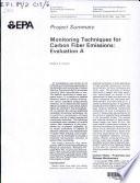 Monitoring Techniques for Carbon Fiber Emissions