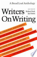 Writers on Writing Book