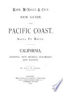 Rand  McNally   Co  s New Guide to the Pacific Coast