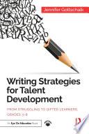 Writing Strategies for Talent Development