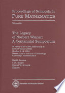 The Legacy of Norbert Wiener