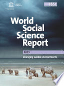 World Social Science Report 2013 Changing Global Environments Book