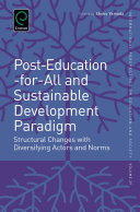 Post Education for All and Sustainable Development Paradigm