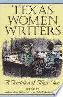 Texas Women Writers PDF