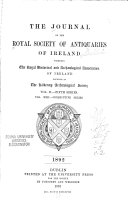 The Journal of the Royal Society of Antiquaries of Ireland