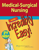 Cardiovascular Care Made Incredibly Easy! + Medical-Surgical Nursing Made Incredibly Easy!