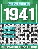 You Were Born In 1941 Crossword Puzzle Book
