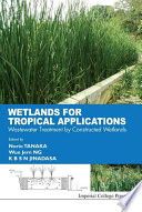 Wetlands for Tropical Applications Book