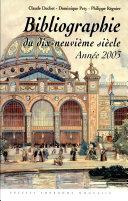 Bibliographie du dix-neuvième siècle ebook