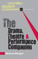 The Drama, Theatre and Performance Companion Pdf/ePub eBook